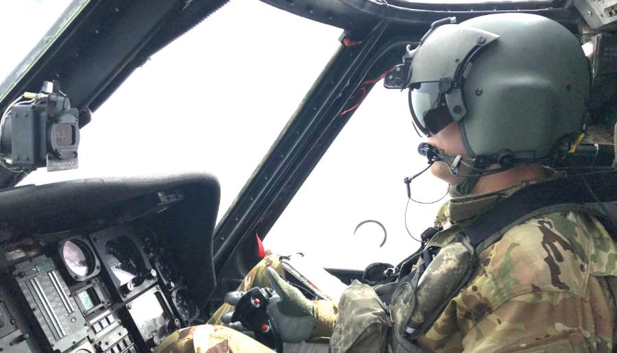 Bank Employee Finds Military Work-Life Balance